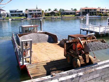 Barge & Bobcat