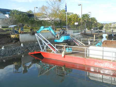 Barge & Excavator 2